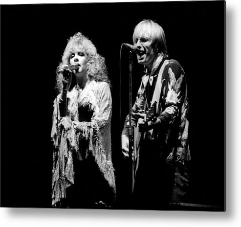 1980-1989 Metal Print featuring the photograph Tom Petty Live by Larry Hulst