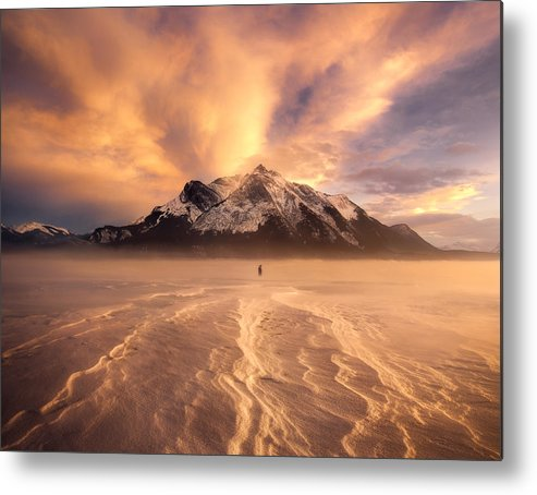 Bubbles Metal Print featuring the photograph Trace Of Wind by Andy Hu