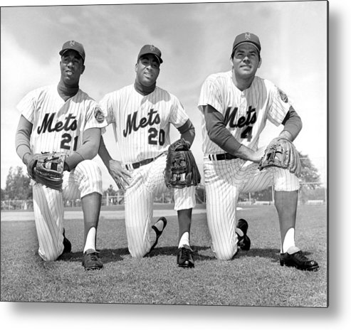 American League Baseball Metal Print featuring the photograph What Could Be The New York Mets by New York Daily News Archive