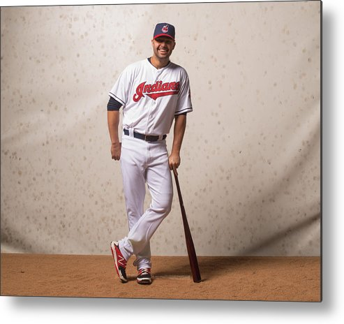 American League Baseball Metal Print featuring the photograph Nick Swisher by Rob Tringali