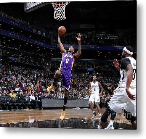 Nba Pro Basketball Metal Print featuring the photograph Nick Young by Nathaniel S. Butler