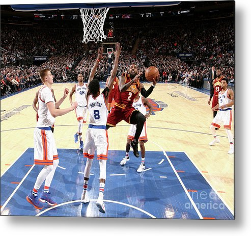 Nba Pro Basketball Metal Print featuring the photograph Kyrie Irving by Nathaniel S. Butler