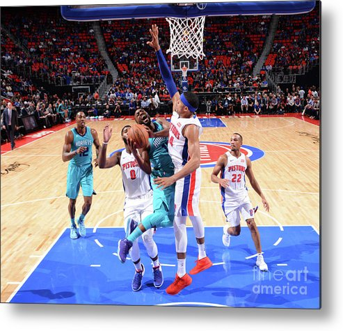 Kemba Walker Metal Print featuring the photograph Kemba Walker by Jesse D. Garrabrant