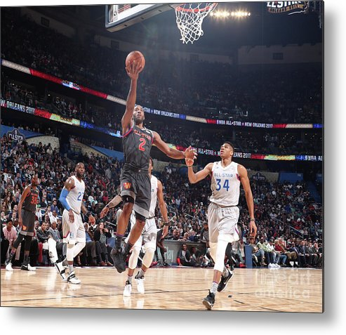Event Metal Print featuring the photograph Kawhi Leonard by Nathaniel S. Butler