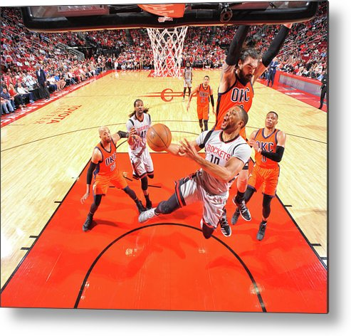 Nba Pro Basketball Metal Print featuring the photograph Eric Gordon by Bill Baptist
