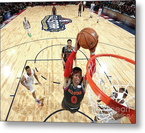 Event Metal Print featuring the photograph Russell Westbrook by Nathaniel S. Butler