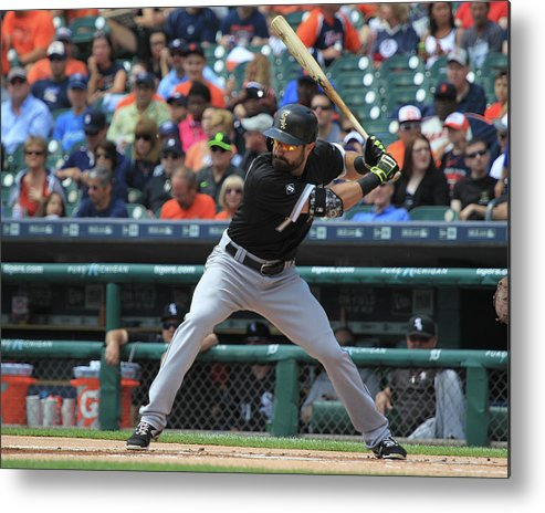 People Metal Print featuring the photograph Adam Eaton by Dave Reginek
