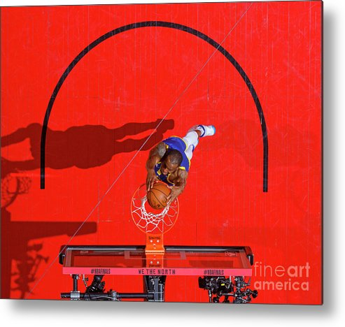 Playoffs Metal Print featuring the photograph Andre Iguodala by Mark Blinch