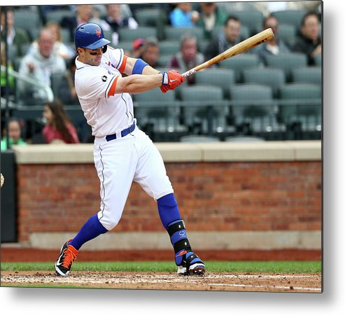 Residential District Metal Print featuring the photograph David Wright by Elsa