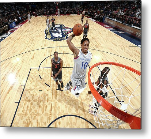 Event Metal Print featuring the photograph Demar Derozan by Nathaniel S. Butler