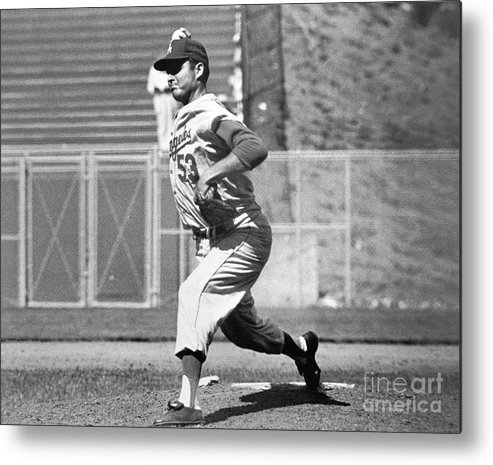 1950-1959 Metal Print featuring the photograph Don White by National Baseball Hall Of Fame Library
