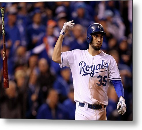 People Metal Print featuring the photograph Eric Hosmer by Doug Pensinger