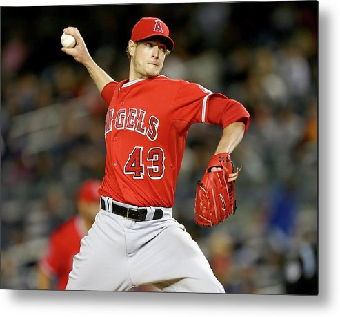 People Metal Print featuring the photograph Garrett Richards by Elsa