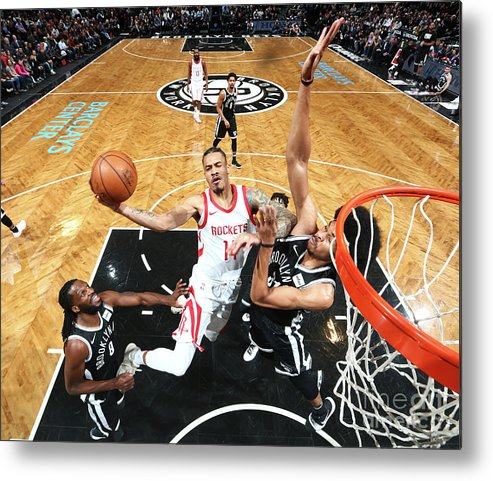 Nba Pro Basketball Metal Print featuring the photograph Gerald Green by Nathaniel S. Butler