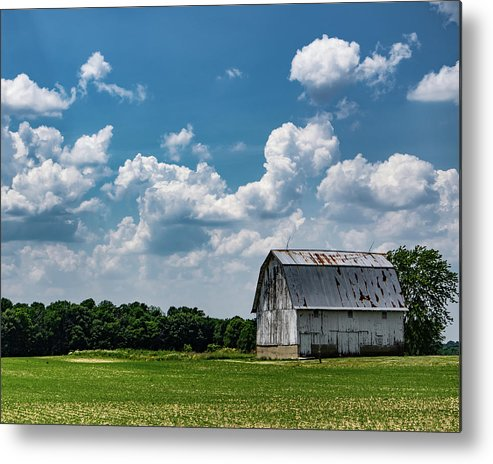 Barn Metal Print featuring the photograph Indiana Barn, #5 by Scott Smith