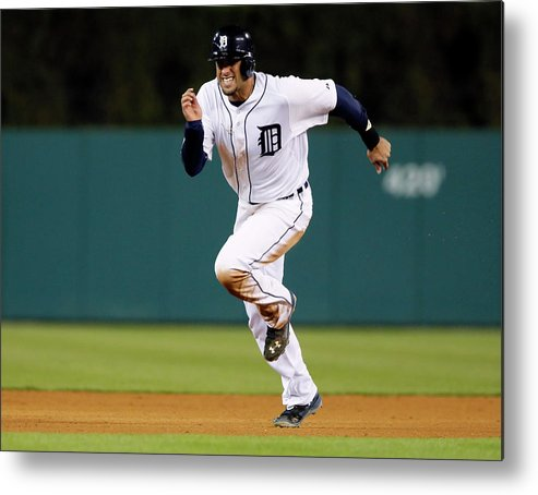 Baseball Catcher Metal Print featuring the photograph J. D. Martinez by Duane Burleson