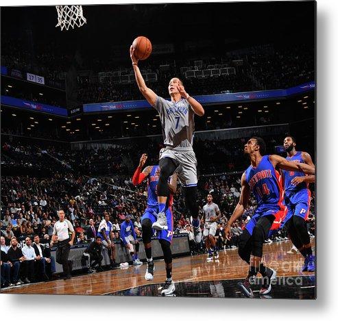 Nba Pro Basketball Metal Print featuring the photograph Jeremy Lin by Jesse D. Garrabrant