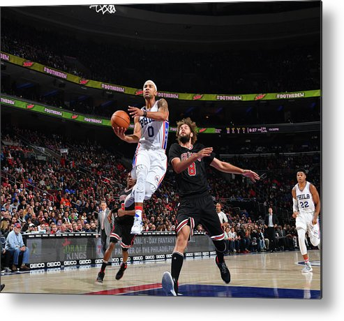 Nba Pro Basketball Metal Print featuring the photograph Jerryd Bayless by Jesse D. Garrabrant