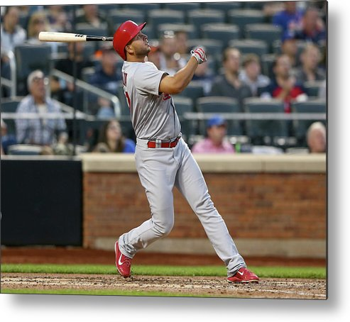 St. Louis Cardinals Metal Print featuring the photograph Jhonny Peralta by Elsa