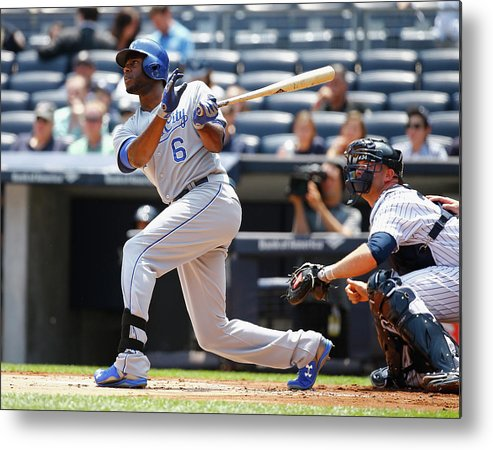 People Metal Print featuring the photograph Lorenzo Cain by Al Bello