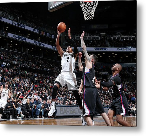 Nba Pro Basketball Metal Print featuring the photograph Randy Foye by Nathaniel S. Butler