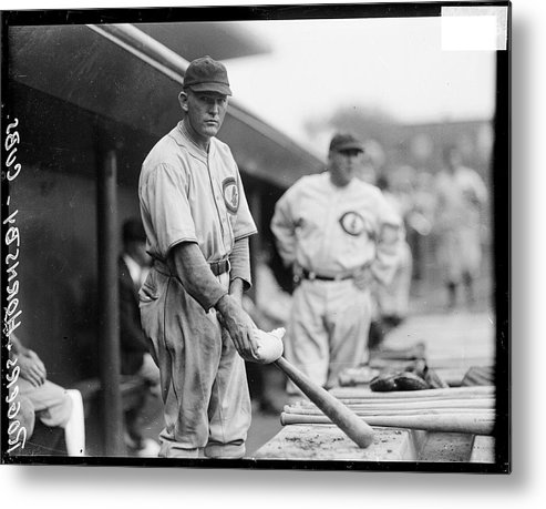 People Metal Print featuring the photograph Rogers Hornsby by Chicago History Museum