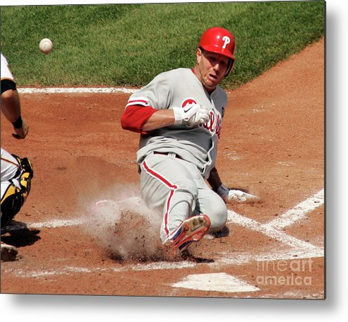 People Metal Print featuring the photograph Roy Halladay by Justin K. Aller