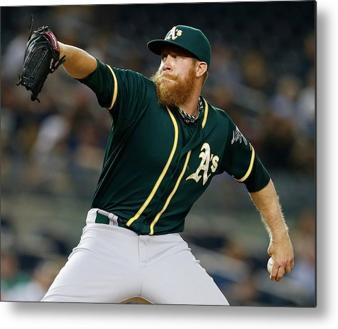 Ninth Inning Metal Print featuring the photograph Sean Doolittle by Rich Schultz