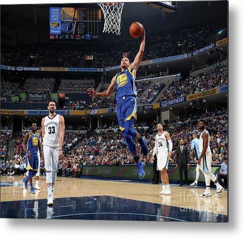 Nba Pro Basketball Metal Print featuring the photograph Stephen Curry by Joe Murphy