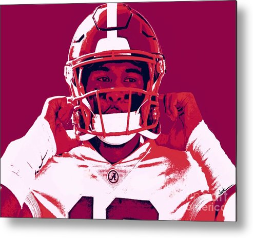 Tua Metal Print featuring the painting Tua by Jack Bunds