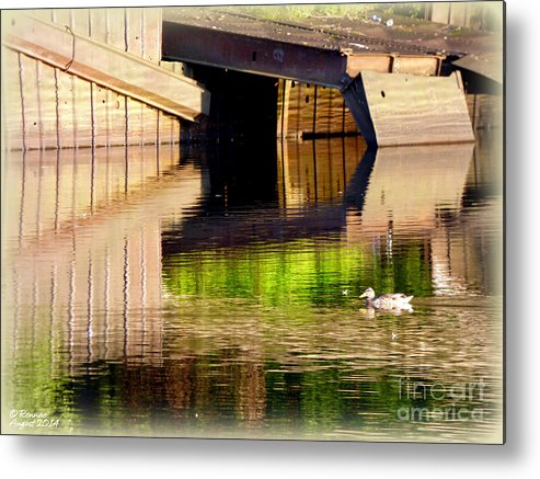 Water Metal Print featuring the photograph Afternoon Illusion by Rennae Christman