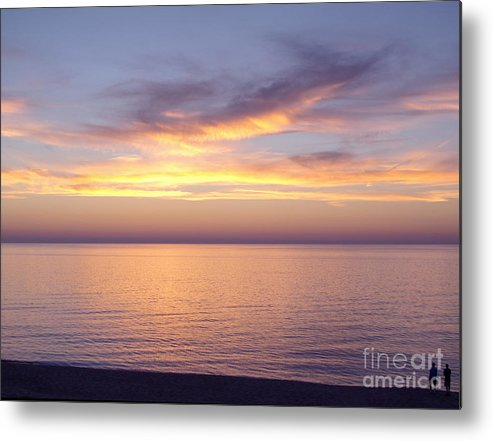 Sunset Metal Print featuring the photograph Awesome Afterglow by Ann Horn