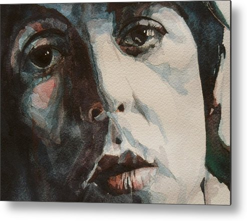 Paul Mccartney Metal Print featuring the painting Let Me Roll It by Paul Lovering
