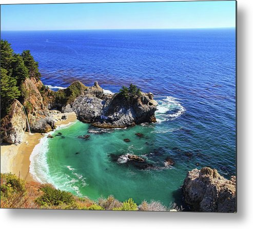 Scenics Metal Print featuring the photograph Mcway Falls by David Toussaint