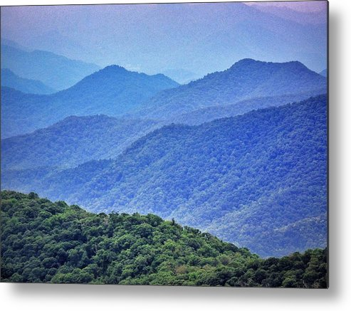 Smoky Metal Print featuring the photograph Smoky by Skip Hunt