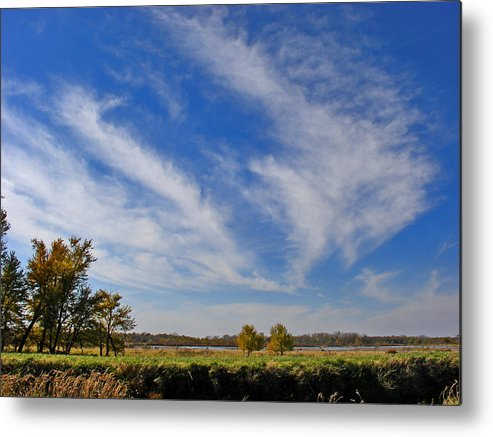 Landscape Metal Print featuring the photograph Squaw Creek Landscape by Steve Karol