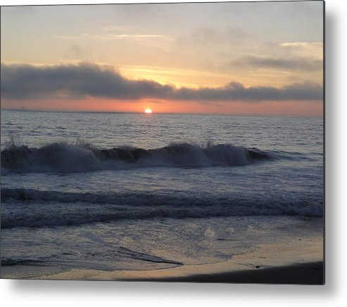Nature Metal Print featuring the photograph Sunset by Anandi Godse