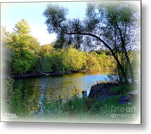 Water Metal Print featuring the photograph The Boat Dock by Rennae Christman
