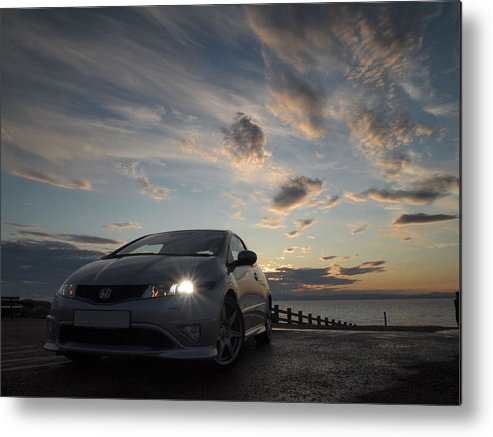 Fn2 Metal Print featuring the photograph Type R by Christopher Mercer