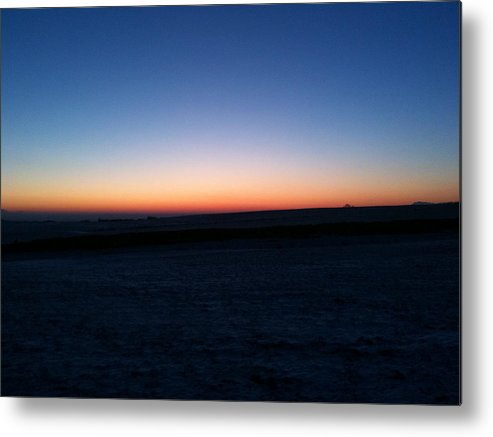 Sunset Metal Print featuring the photograph Sunset by Christopher Mercer