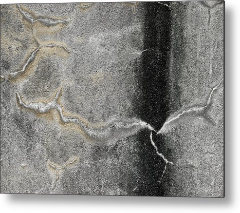 Wall Metal Print featuring the photograph Wall Texture Number 4 by Carol Leigh