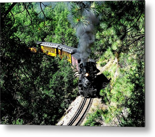 Train Metal Print featuring the photograph Nostalgic Moments by Carol Milisen
