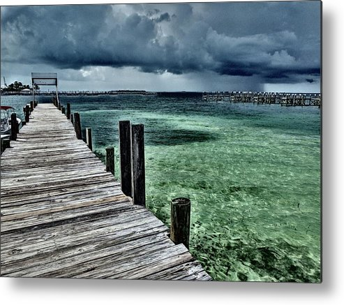 Caribbean Metal Print featuring the photograph Abaco Islands, Bahamas by Cindy Ross