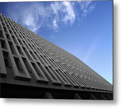 Building Metal Print featuring the photograph ABC by Kelly King