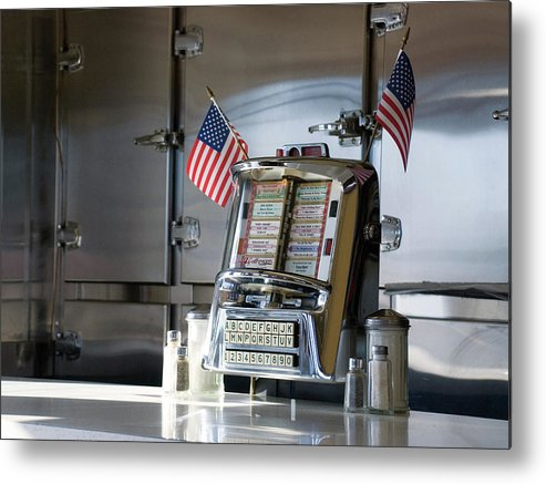 Diner Metal Print featuring the photograph Americana by Randy Ford