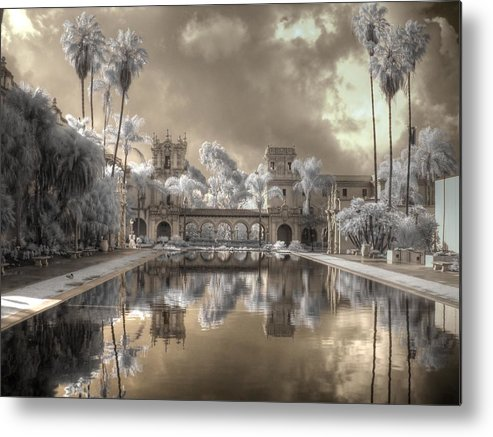 Balboa Metal Print featuring the photograph Balboa Park Infrared by Jane Linders