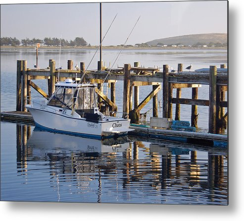 Boat Metal Print featuring the photograph Chaos near Bodega Bay by Suzanne Gaff
