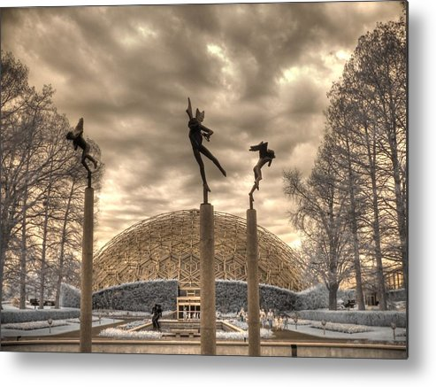 Climatron Metal Print featuring the photograph Climatron by Jane Linders