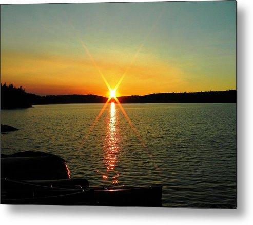 Nature Metal Print featuring the photograph Day's End by Peter McIntosh