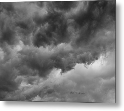 Clouds Metal Print featuring the photograph Faces In The Mist Of Chaos by ChelleAnne Paradis